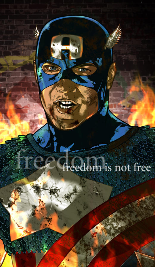 Captain America: Freedom is Not Free