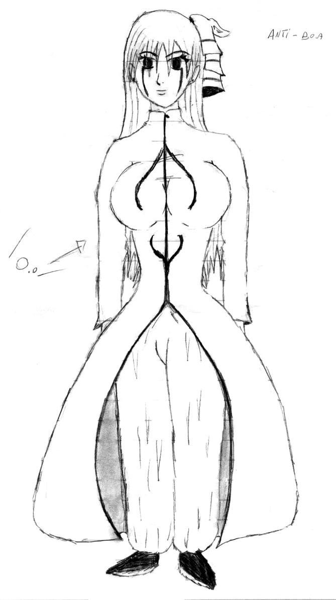 Anti-Boa - Desenho do corpo by turmadoguetoh