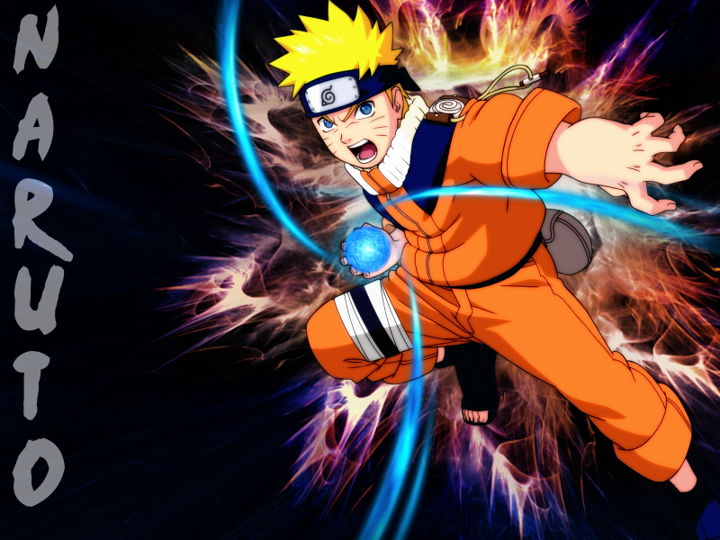 Naruto Uzumaki Wallpaper by MelloFan