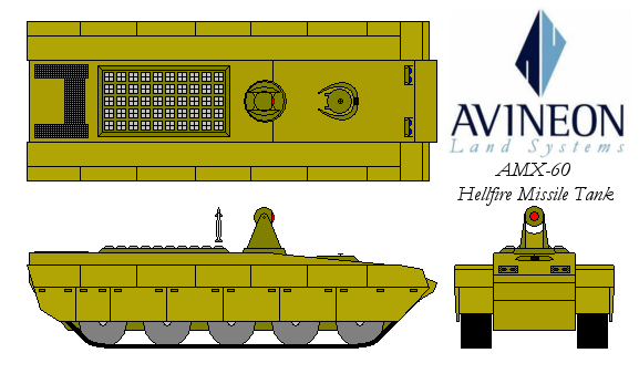 AMX-60 Hellfire Tank by DemonLordRazgriz