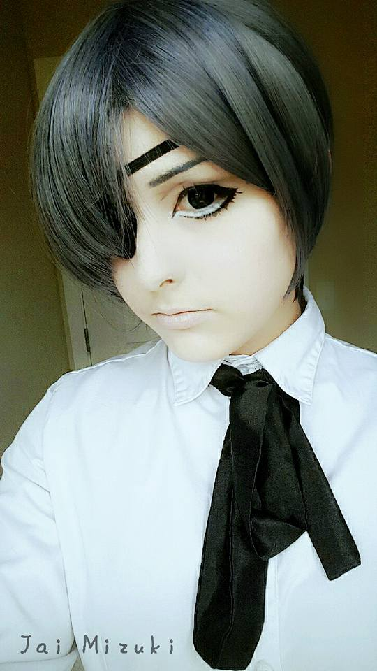 Ciel [Updated Makeup Test] by JaiMizuki