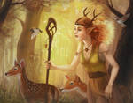 The Deer Herder