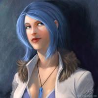 Blue - Commission by artsangel
