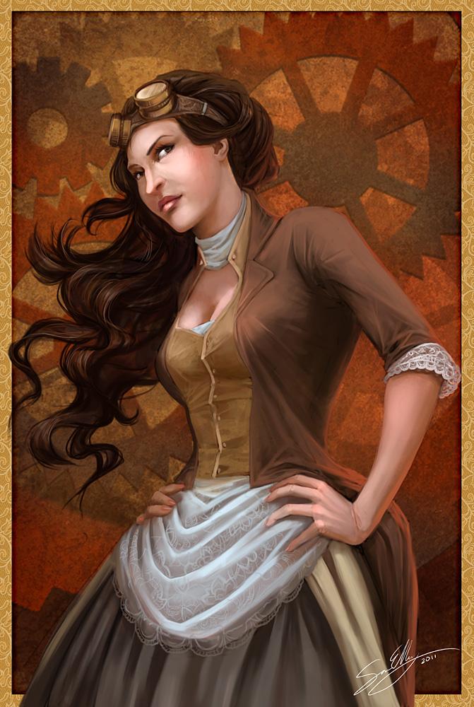 Steampunk by artsangel