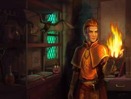 'Firebrand' Cover by artsangel