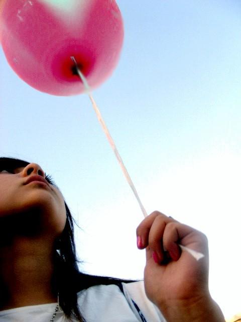pink balloon by xlevax - AvataR . . .