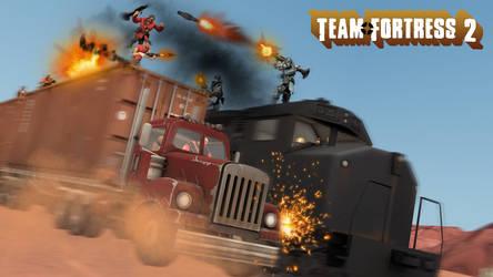 TF2 Truck Vs Train