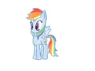 RainbowDash attempt by Sonicxg