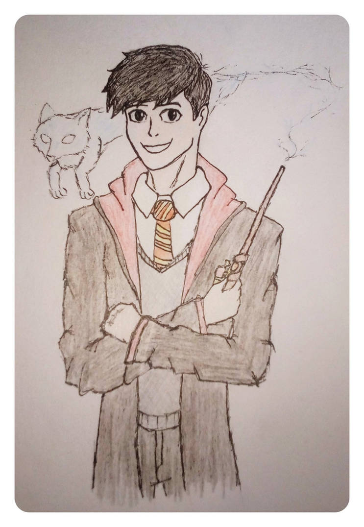 Harry Potter OC: Thomas 'Black Tom' Weasley by