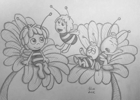 Maya the Bee - Classic and Modern