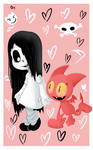 Erma and Satina crossover