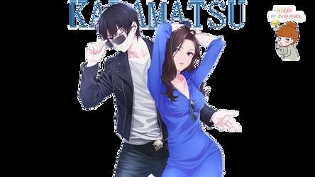 Karamatsu  (Osomatsu-kun) |Render| by Anyelfexol