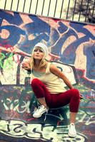 Skater girl by dancingperfect