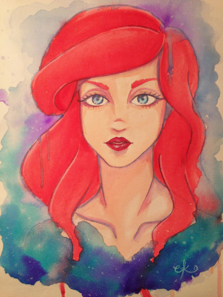The Little Mermaid by PeaceByPiece95