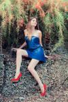 the Girl in Blu VII