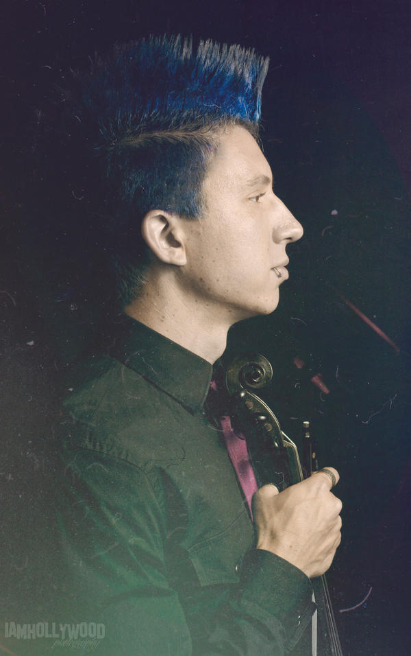 Portrait of a Violinist by Johnny23xx