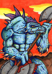 DragonBreed1 by AParasiticCyst