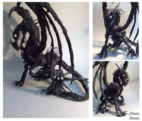 Nightmare Dragon by ClawsUnion