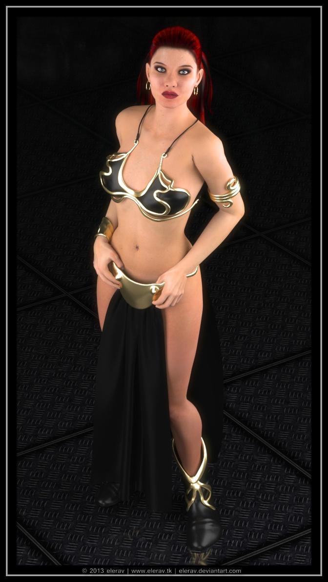 Metal Bikini by elerav