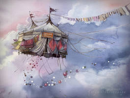 Flying Circus by Sukhotskaya