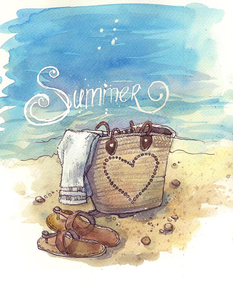 Summer by Sukhotskaya