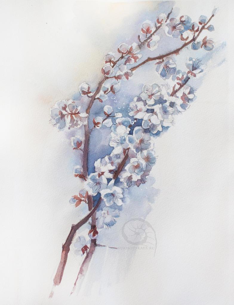 Spring by Sukhotskaya