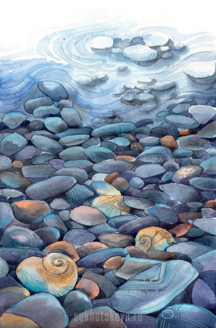 Stones by Sukhotskaya