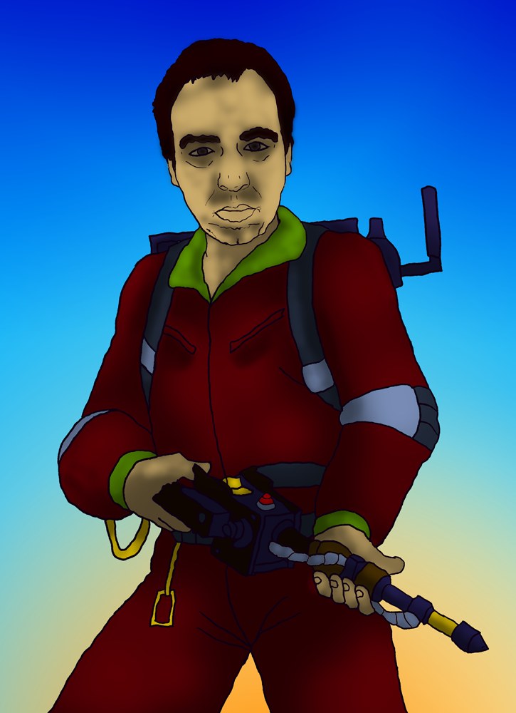 Matt Jordan the Ghostbuster by devilmanozzy