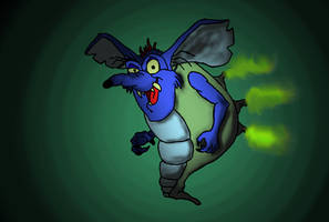 The Brat-a-rat by devilmanozzy