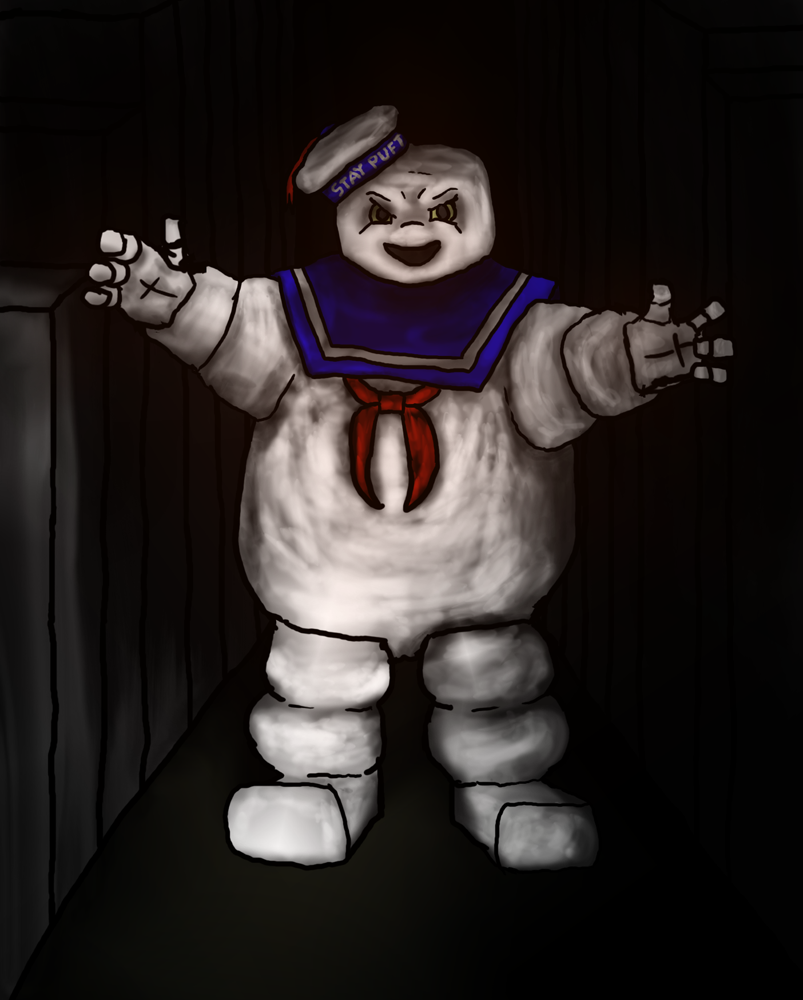 Angry Stay Puft by devilmanozzy on DeviantArt