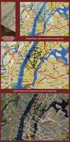Mandala on Real Maps