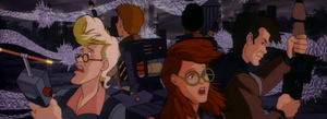 The Real Ghostbusters Verus the Unknown (Collage)