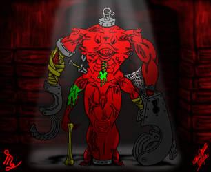 Dungeon Crawler (Solid Color) by devilmanozzy