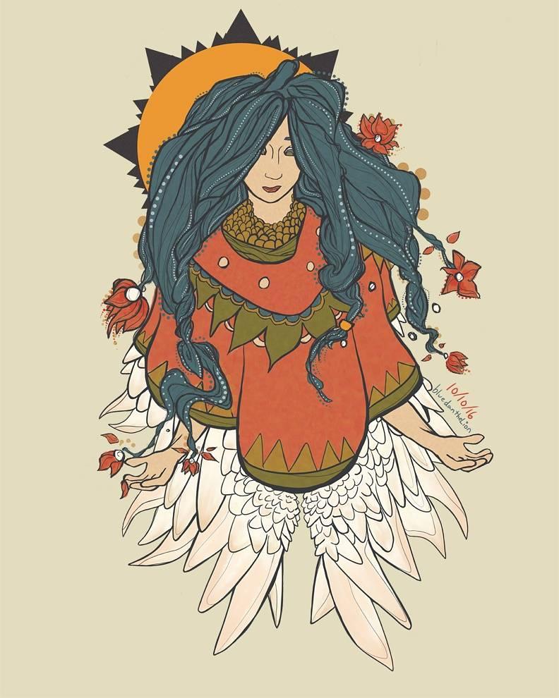 Angel Luna by BlueDantheLion