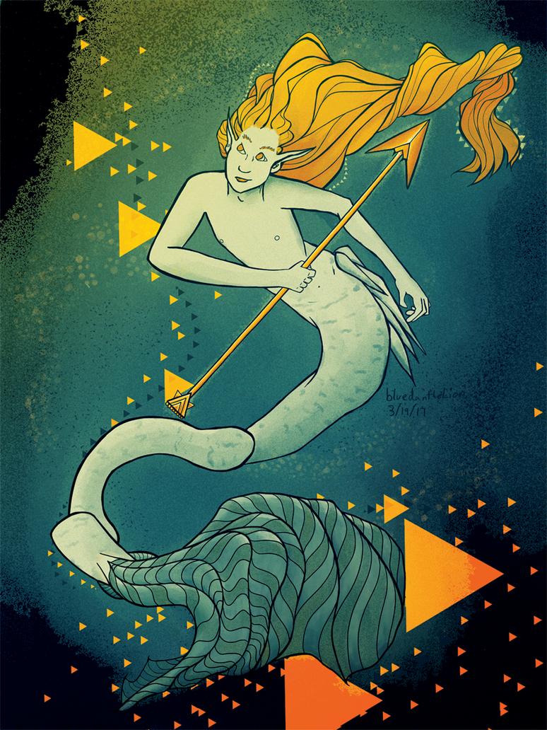 Merman by BlueDantheLion