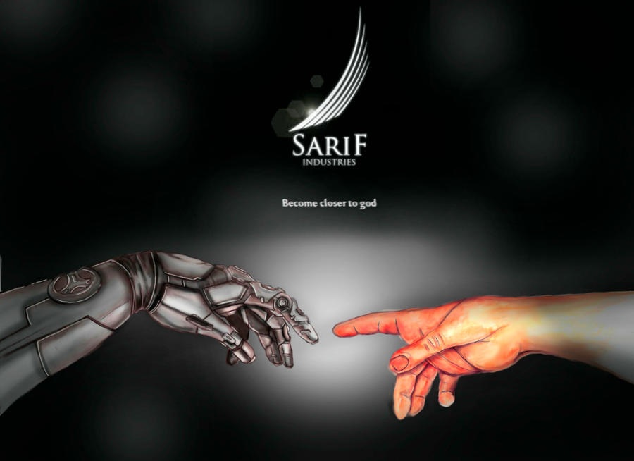 Sarif Industries commercial by SugaiMishima