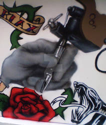 Tattoo on the wall