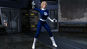 Sue Storm - The invisible woman