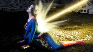 Fleischer Superwoman - On hands and knees