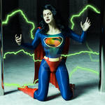 5 days 5 images: Day 4 - Superwoman Kryptonite Ray by rustedpeaces