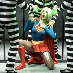 Supergirl - Prisoner by rustedpeaces