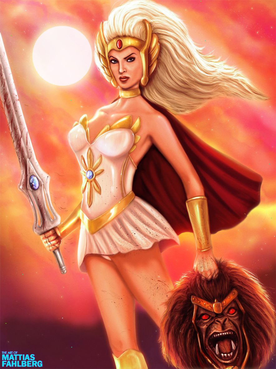 She-Ra by MattiasFahlberg