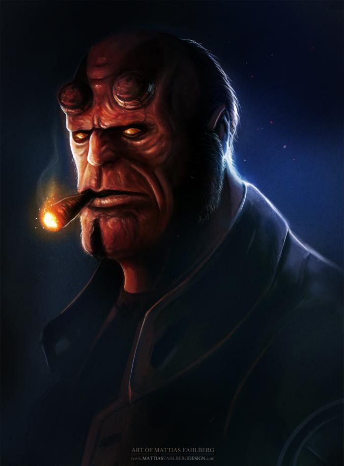 Hellboy by MattiasFahlberg