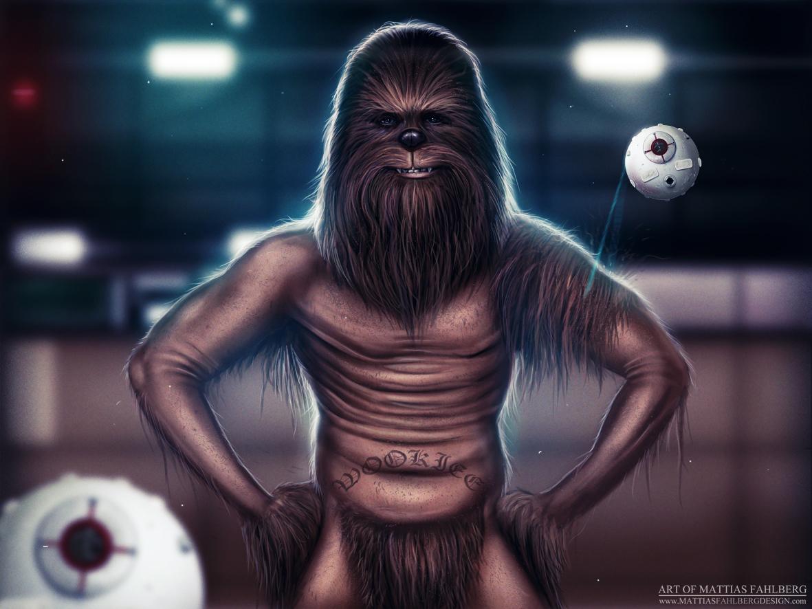 Chewbacca by MattiasFahlberg