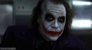 The Joker by MattiasFahlberg
