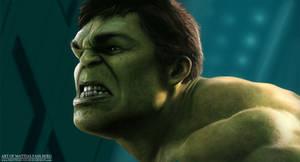 The Hulk by MattiasFahlberg