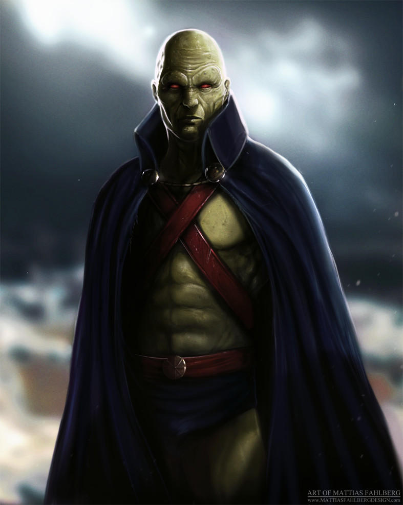 Martian Manhunter by MattiasFahlberg