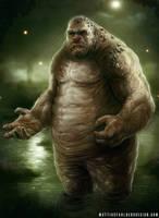 Swamp Troll by MattiasFahlberg