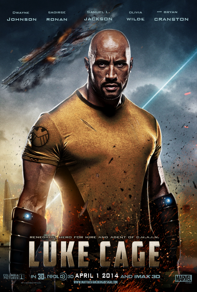 luke cage official movie poster by mattiasfahlberg on