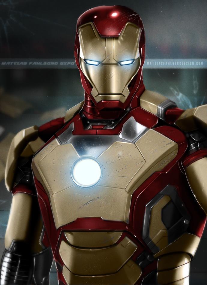Iron Man by MattiasFahlberg